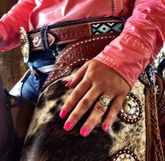 ♥ Cowgirl bling