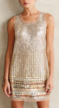 beautiful beaded shift dress - perfect for New Years! #anthrofave http://rstyle.me/n/rp639r9te