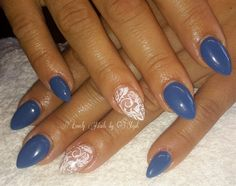 Day 229: Eye On Accent Nail Art - - NAILS Magazine