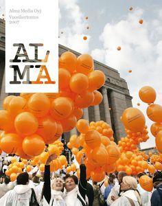 Creative Annual Report Cover Graphic Design
