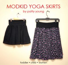 Yoga Skirt Tutorial (Toddler + Child + Women) « Sew,Mama,Sew! Blog