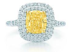 Tiffany Soleste yellow diamond ring - www.tiffany.com