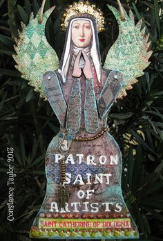 Saint Catherine (angel ornament)