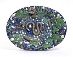 I love Palissy Ware.