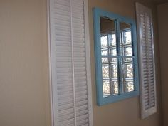 old window and shutters