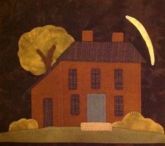 Tavern House block of the month from Primitive Gatherings