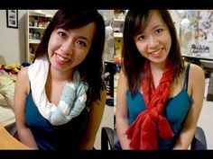Braided Scarf from a T-Shirt - DIY Tutorial - YouTube