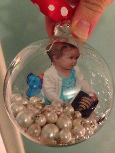 Photo Christmas ball ornament