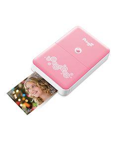 pink portabl, photo printer, portabl printer