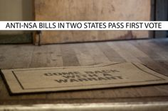 BREAKING NEWS: Anti-NSA spying bills pass out of committee in Oklahoma (9-3 vote) and New Hampshire (12-1 vote)