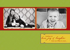 Cute idea for Christmas Card Saying