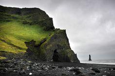 Not your typical beach; Reynisfjara black sand Beach, South Iceland