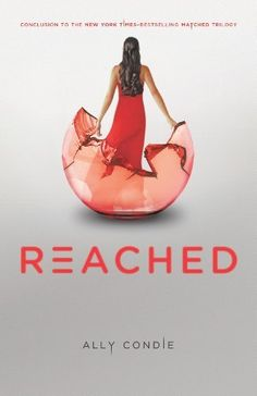 Reached (Matched Trilogy Book 3) by Ally Condie. $11.25. Author: Ally Condie. Reading level: Ages 12 and up. Publisher: Dutton Juvenile; First Edition edition (November 13, 2012). 384 pages