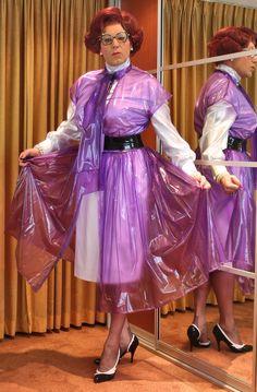 Prim plastic overdress
