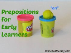 Prepositions for Early Learners with free printable