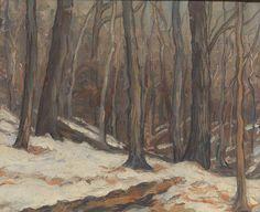 """"""" William George Reindel: Midwinter (1916) """""""