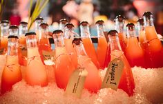 """Alameda Aperitif""  1 oz Hangar 1 Straight Vodka 1 oz fresh grapefruitjuice 1 oz Unti Rose ½ oz Bianco Vermouth 1 oz seltzer water  Build over ice in wine glass."