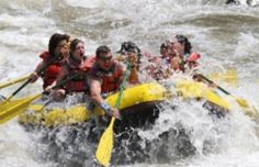 Whitewater rafting on the Colorado River in Glenwood Springs, CO!
