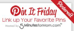 Link Up Your Blog every Friday!