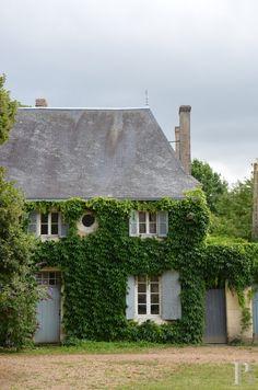 FleaingFrance....18th century walled estate, Loire valley, France