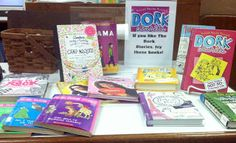 Dork Diaries Readalikes Display ~ so tomorrow