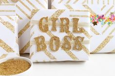 Girl boss embellishm
