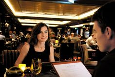 Our favourite - Have a nice dinner at Norwegian's signature Cagney's Steakhouse found on board each ship