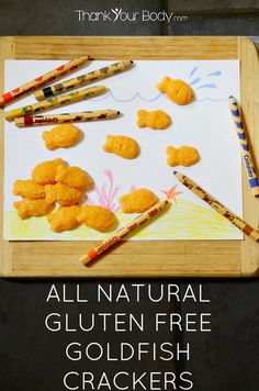 Recipe: All Natural Gluten Free Goldfish Crackers