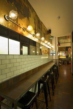 Restaurant and Bar Design Awards - Entry 2011/12  hospitality / interior / bar / restaurant / lighting / tiles / mirror