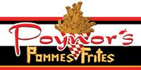 Poynors-Pomme-Frites - Specialty Items Include:  Pommes Frites / Belgium Fries, Original Made-In-House Dipping Sauces, Authentic German Brats, Fresh Baked Brochen (German Hard Rolls)and Spaghetti Ice. #TheIsland #PigeonForge
