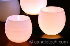 Wedding Centerpiece Idea – Water Balloon Luminaries