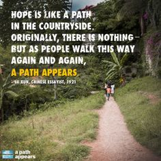 Nicholas Kristof and Sheryl WuDunn's new book, A Path Appears, will be released Sept. 23. Follow A Path Appears on Facebook (facebook.com/apathappears) and Twitter (@APathAppears) for updates and pre-order your copy today!
