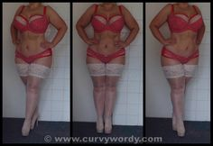 My review of the Cleo by Panache Minnie Red Spot Bra and Briefs http://www.curvywordy.com/2014/06/cleo-by-panache-minne-red-spot.html