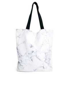 ASOS Marbled Shopper Bag