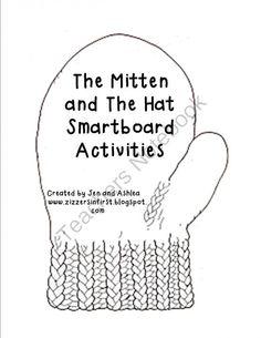 Jan Brett- The Hat and The Mitten Smartboard Activities from Zizzers ...
