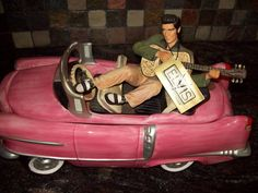 Elvis Cadillac Cookie Jar