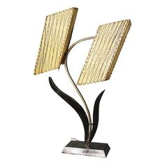 MID CENTURY BLOSSOM TABLE LAMP IN GOOGIE STYLE - $975.
