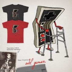 Old Gamer by Gintron on Threadless