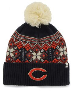 NFL For Her Fair Isle Huntley Knit Hat - A little sport and a whole lot of fun, support your team in comfort with this adorable knit cap!