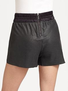 Admit, you've ALWAYS wanted $500 LEATHER running shorts. I mean, who doesn't?
