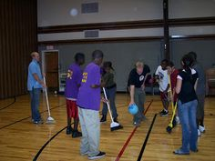 Philly LDS Youth Activities: Combined Broom Hockey Fun