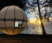 cocoon tent tree house .. if only ..