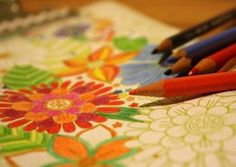 Coloring is a great stress reliever and a relaxing activity for kids of all ages, 0-100. It is especially a good activity to do with someone who has Alzheimer's and can be an activity that can be enjoyed by several generations all at once.