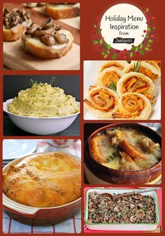 A big CHEESY Holiday menu you are going to love! From NoblePig.com