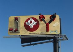 IKEA billboard