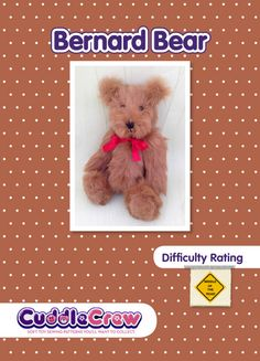 FREE Teddy Bear Pattern and Tutorial