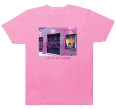 Marc Jacobs x Kidult 'Art by Art Jacobs' T-Shirt