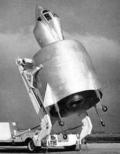 The SNECMA Coléoptère was a VTO aircraft developed by the French in the 1950s. It was a single-person aircraft with an annular wing designed to land vertically, therefore requiring no runway and very little space to take-off. There were several prototypes developed and tested, however the design proved to be very unstable and flying it was dangerous.