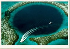 Great Blue Hole, Belize. Going back there someday!