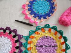ElenaRegina shares the joining for this lovely #crochet project